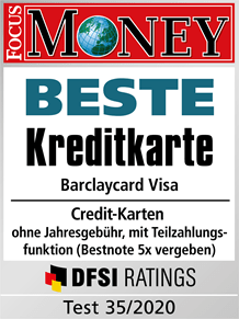 Focus Money - Beste Kreditkarte 2020