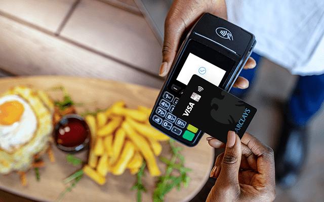 Kontaklos zahlen mit der Kreditkarte
