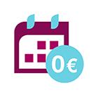 0 € Jahresgebühr im ersten Jahr