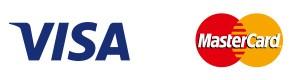 Visa uns MasterCard Logo